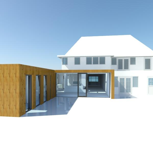 2011 Uitbouw woonhuis